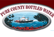 Pure County Bottled Water logo